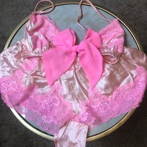 Victoria's Secret Satin bra and short set